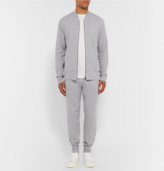 Hanro - Luis Slim-Fit Fleece-Back Stretch-Cotton Jersey Sweatpants