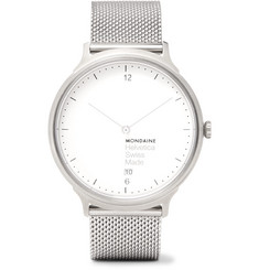 Mondaine Helvetica No1 Light Stainless Steel Watch