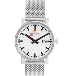 Mondaine Evo Big Date Stainless Steel Watch