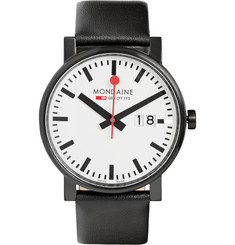 Mondaine - Evo Big Steel and Leather Watch