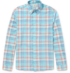 Faherty Ventura Checked Cotton Shirt