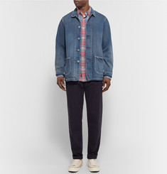 Faherty - Seaview Checked Slub Cotton Shirt