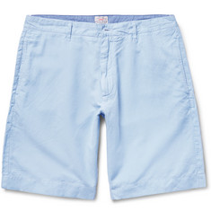 Faherty Linen and Cotton-Blend Shorts