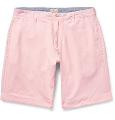Faherty - Linen and Cotton-Blend Shorts
