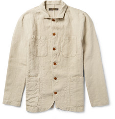 Freemans Sporting Club - Linen Shirt Jacket