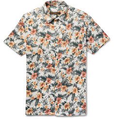 Freemans Sporting Club - Floral-Print Linen Shirt
