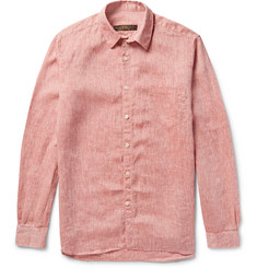 Freemans Sporting Club - Slub Linen Shirt