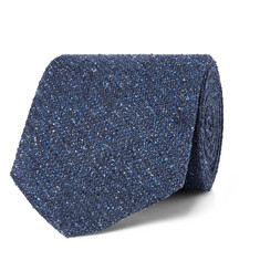 Freemans Sporting Club Mélange Slub Silk Tie