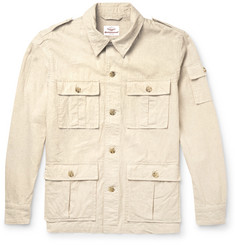 Battenwear Correspondent Linen and Cotton-Blend Field Jacket