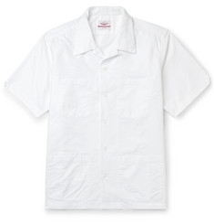 Battenwear Island Camp-Collar Cotton Oxford Shirt