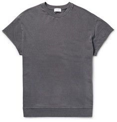 John Elliott Oversized Garment-Dyed Loopback Cotton-Jersey Sweatshirt