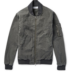 John Elliott - Washed-Cotton Poplin Bomber Jacket