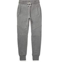 John Elliott Slim-Fit Tapered Loopback Cotton-Jersey Sweatpants