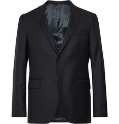 Officine Generale - Navy Slim-Fit Wool Blazer