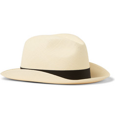 Lock & Co Hatters Classic Woven Straw Panama Hat