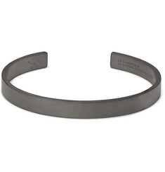 Le Gramme Le 21 Brushed Ruthenium Cuff