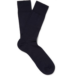Falke Cool 24/7 Stretch Cotton-Blend Socks