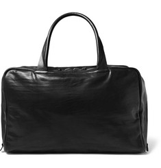 Álvaro Washed-Leather Holdall