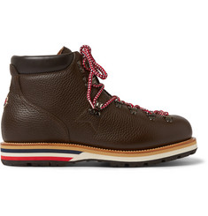 Moncler Peak Full-Grain Leather Hiking Boots