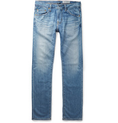 AG Jeans - Matchbox Slim-Fit Washed-Denim Jeans