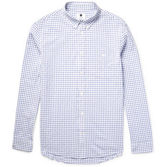 NN07 New Derek Slim-Fit Checked Cotton Shirt