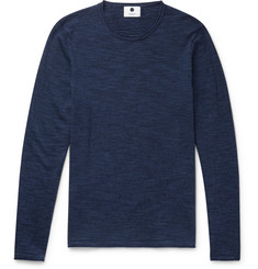 NN07 Jax Mélange Cotton-Blend Jersey Sweater