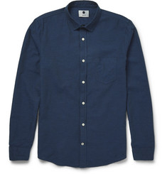 NN07 - Samuel Cotton and Linen-Blend Shirt