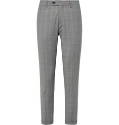 NN07 - Soho Slim-Fit Checked Woven Trousers
