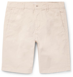 NN07 - Crown Stretch-Cotton Twill Shorts
