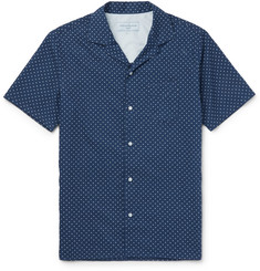 Officine Generale - Camp-Collar Polka-Dot Cotton Shirt