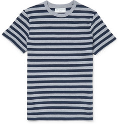 Officine Generale - Striped Knitted Cotton T-Shirt