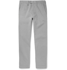Officine Generale Yarn-Dyed Cotton-Twill Chinos