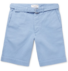 Officine Generale Julian Cotton-Twill Shorts