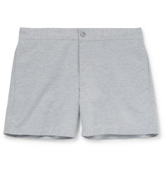 Officine Generale Roman Short-Length Textured-Shell Swim Shorts