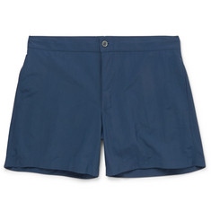Officine Generale Roman Short-Length Shell Swim Shorts