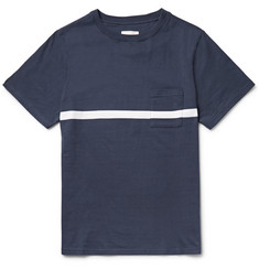 Saturdays NYC Randall Striped Cotton-Jersey T-Shirt