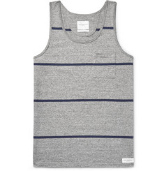 Saturdays NYC Rosen Striped Cotton-Jersey Tank Top