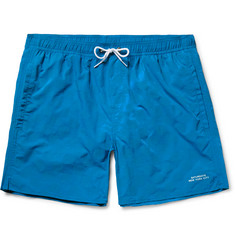 Saturdays NYC - Timothy Checkerboard Mid-Length Swim Shorts