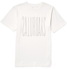 Saturdays NYC Backwards Forwards Slim-Fit Printed Cotton-Jersy T-Shirt