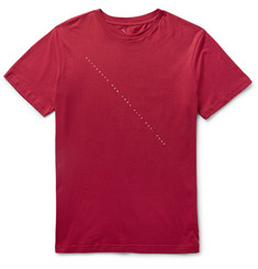 Saturdays NYC Slim-Fit Script-Print Cotton-Jersey T-Shirt