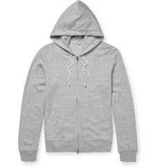 Club Monaco Loopback Cotton-Jersey Zip-Up Hoodie