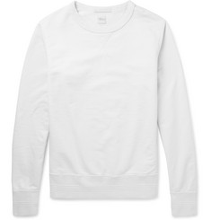 Albam Loopback Cotton-Jersey Sweater