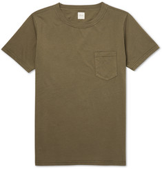 Albam Garment-Dyed Cotton T-Shirt