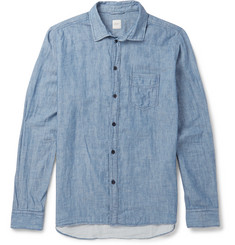Albam - Washed Cotton-Chambray Shirt