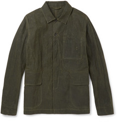 Albam - Washed Cotton-Canvas Field Jacket