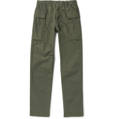Albam - Brushed Cotton-Canvas Cargo Trousers