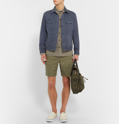 Albam Cotton-Canvas Shorts