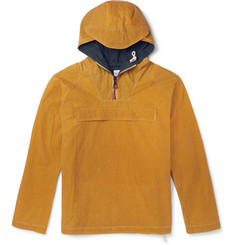 Albam - Waxed Cotton-Canvas Hooded Jacket