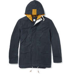 Albam - Waxed Cotton-Canvas Parka