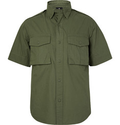 Snow Peak Cotton-Poplin Shirt